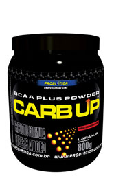 Carb Up Laranja BCAA Plus Pro